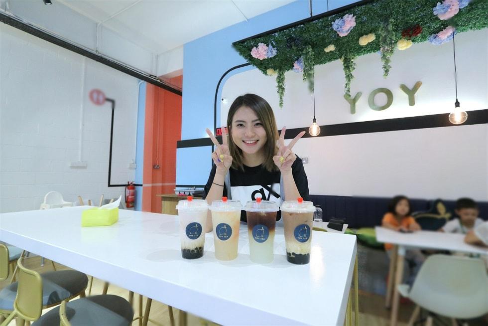 GO XUAN 主持人Catherine凱心奶茶成癮·開茶飲店YOY Tea當老闆!