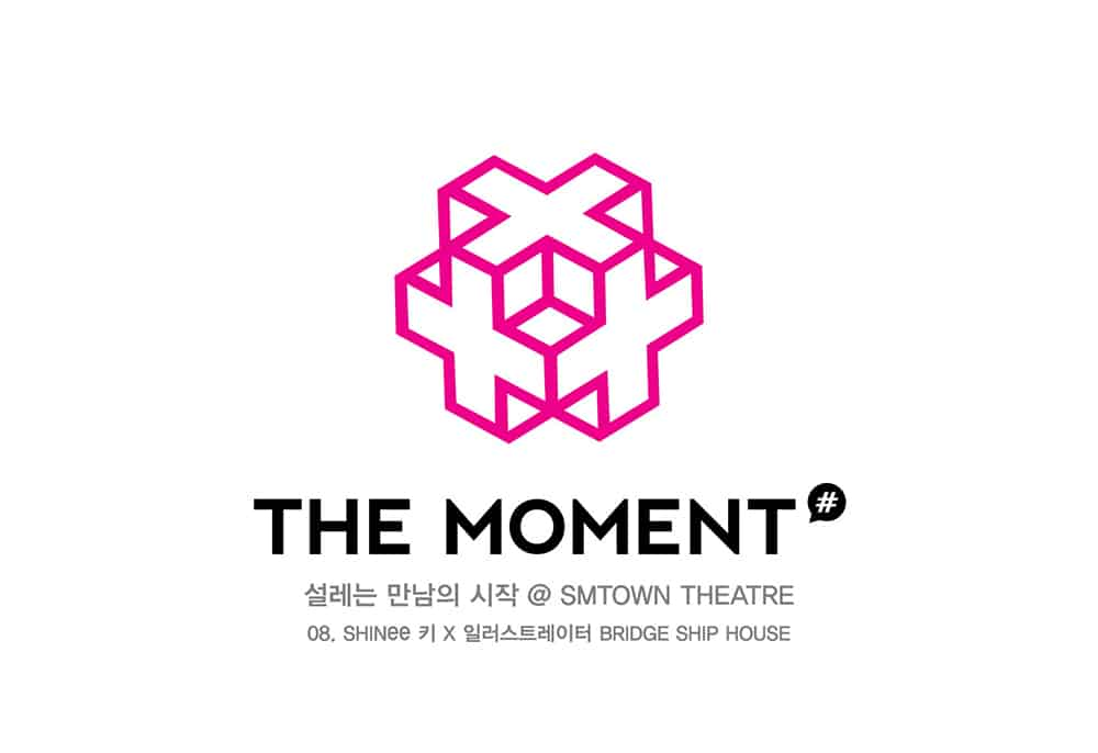 THE MOMENT 'SHINee KEY X BRIDGE SHIP HOUSE' Lecture Logo